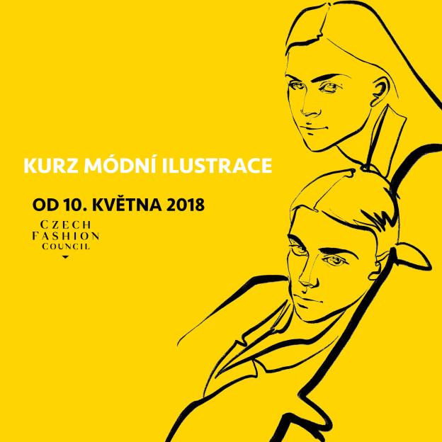 W: modni ilustrace, Praha, 10/05/18
